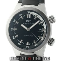 IWC Aquatimer Collection Aquatimer Stainless Steel 42mm Black...