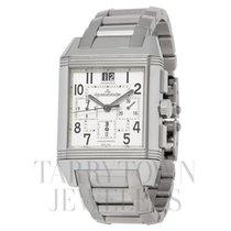 Jaeger-LeCoultre Reverso Squadra Chronograph GMT Steel 35mm Silver Arabic numerals United States of America, New York, Hartsdale