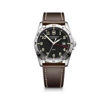 Victorinox Swiss Army Infantry GMT dark grey dial, leather...