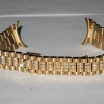 Rolex Datejust President 18k Solid Gold Bracelet Diamonds