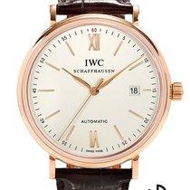 IWC Portofino Automatic Red gold 40mm White Roman numerals