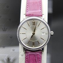 萬國 IW458112    Portofino Silver-Plated Dial Pink Alligator