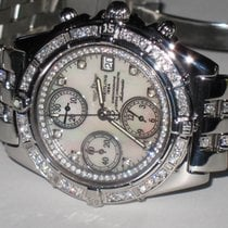 Breitling Chrono Cockpit Steel 39mm Mother of pearl No numerals United States of America, New York, NEW YORK CITY