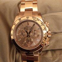 Rolex 116505A Rose Gold Diamond Baguettes Dial