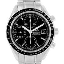 Omega Speedmaster Stainless Steel Chronograph Mens Watch...