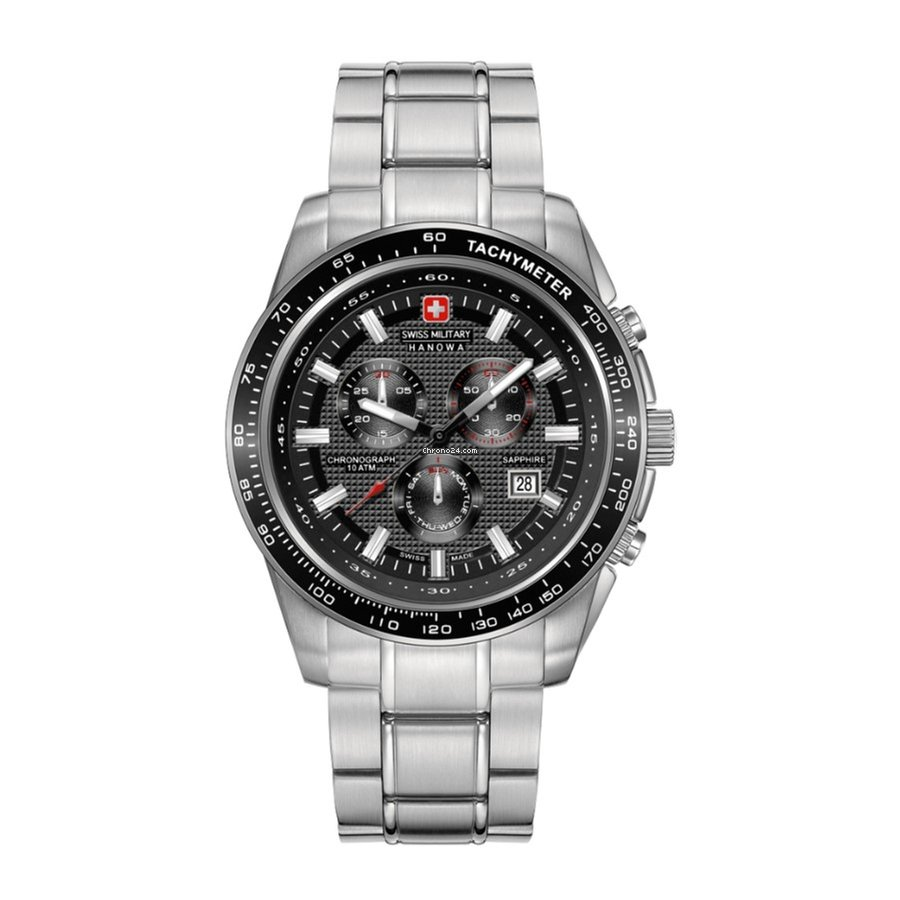5225 6 04 Swiss Military Chrono Hanowa 007 Crusader FK13JuTl5c