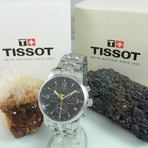 Tissot Prc 200 Chronograph Saphirglas Edelstahl Herrenuhr Box...