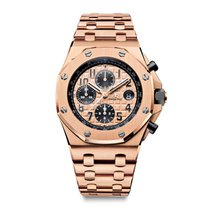 Audemars Piguet Royal Oak Offshore Chronograph Rose Gold Pink...