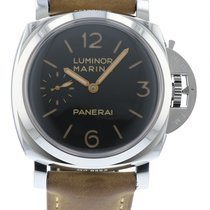 Panerai Luminor Marina PAM 422 Watch with Leather Bracelet and...