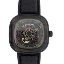 Sevenfriday Steel 47mm Automatic SF P3 01 pre-owned
