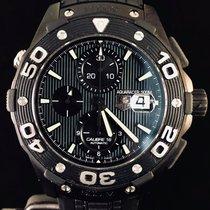 TAG Heuer Titane Remontage automatique Noir Sans chiffres 44mm occasion Aquaracer 500M