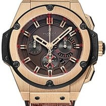 Hublot King Power Rose gold 48mm Brown No numerals United States of America, New Jersey, FLORHAM PARK