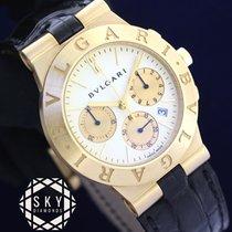 Bulgari Chronograph 35mm Quartz pre-owned Diagono White