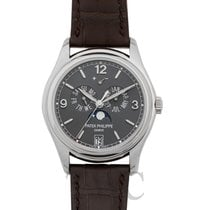 Patek Philippe Annual Calendar Or blanc 39mm Gris