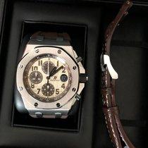 Audemars Piguet Royal Oak Offshore Chronograph Acero 42mm Blanco Árabes México, Tlaxcala