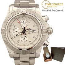 Breitling Super Avenger II Steel 48mm White