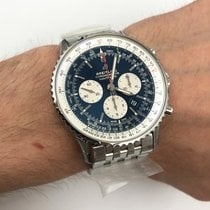 Breitling Navitimer 01 (46 MM) Steel 46mm Blue No numerals United States of America, New York, NYC