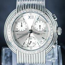 Boucheron Acier 40mm Quartz REFLET FRANCE DESIGN DIAMOND LEGEND occasion