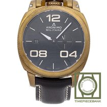 Anonimo new Automatic Small Seconds Luminescent Hands Luminous indexes 43mm Bronze Sapphire Glass