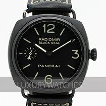 沛納海 Radiomir Black Seal 鋼 45mm 黑色
