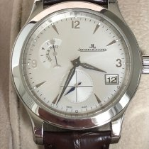 Jaeger-LeCoultre pre-owned Automatic 40mm Silver Sapphire Glass 5 ATM
