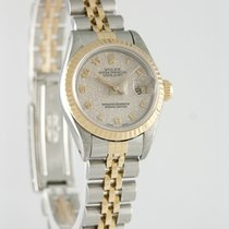 Rolex Lady-Datejust Золото/Cталь 26mm Cеребро Aрабские
