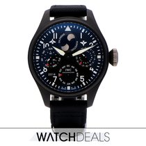IWC Big Pilot Top Gun Ceramic 48mm Black Arabic numerals
