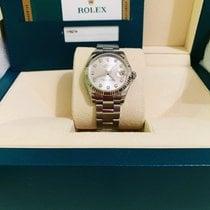 Rolex Lady-Datejust Zlato/Zeljezo 31mm Siv Bez brojeva