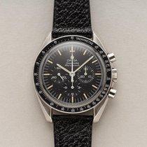 Omega Speedmaster Professional Moonwatch gebraucht 40mm Schwarz Chronograph Rindsleder
