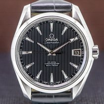 Omega pre-owned Automatic 38.5mm Black Sapphire Glass 15 ATM