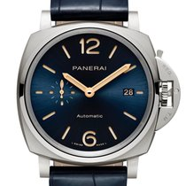 Panerai Titanium Automatic Blue 42mm new Luminor Due