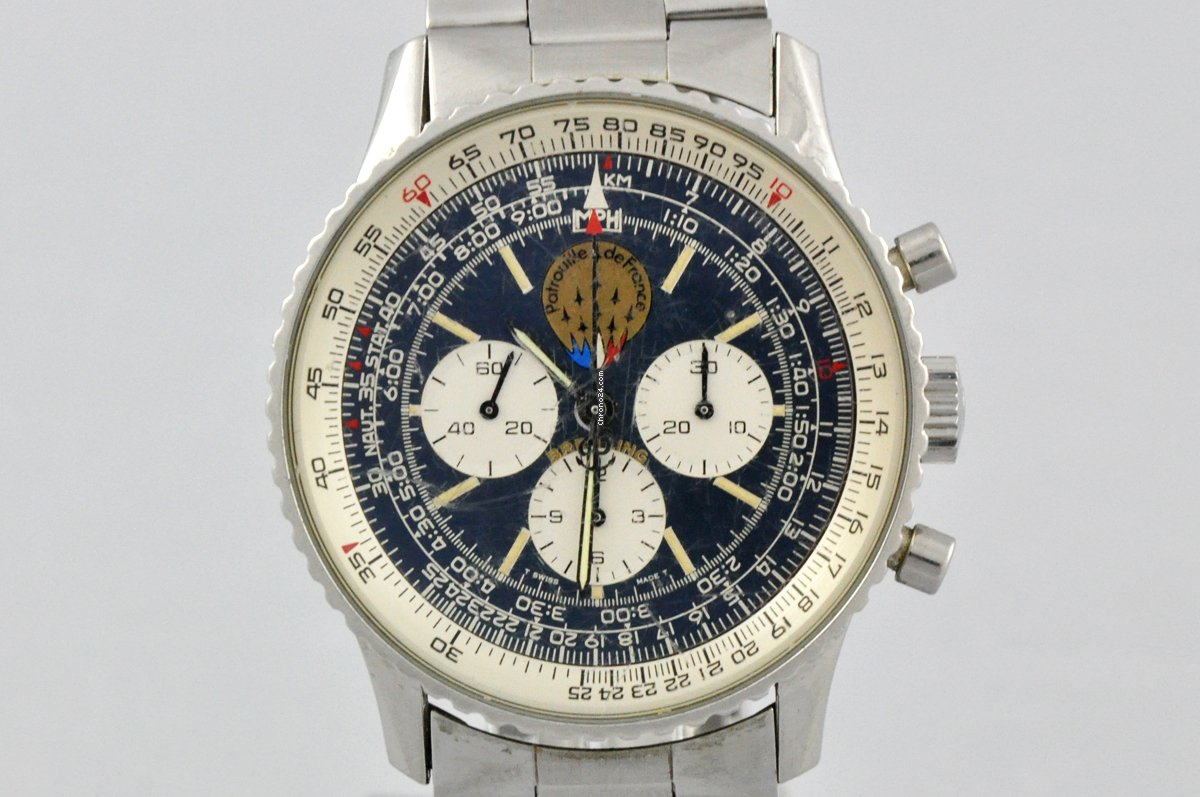 Breitling Old Navitimer A11021 pre-owned