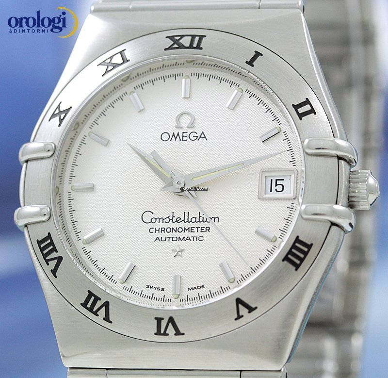 Omega Constellation Chronometer Automatic 36mm Steel Mens ...