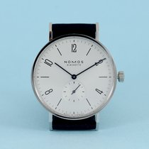 NOMOS Tangente 38 Steel 37,5mm White Arabic numerals