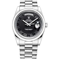 Rolex Used 218206_used Platinum Mens Day Date II President -...