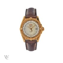 Breitling Wings Lady Yellow gold 31mm Mother of pearl