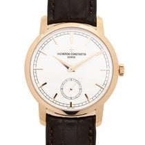 Vacheron Constantin Traditionnelle 18k Pink Gold White Manual...
