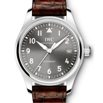 IWC Pilot's Watch Automatic 36 Сталь 36mm Aрабские
