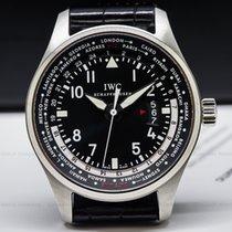 IWC IW326201 Pilot WorldTimer SS Black Dial (27176)