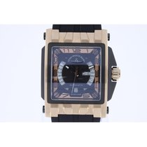 Zeno-Watch Basel Mistery Rectangular PVD NEW