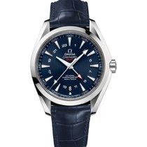 Omega Seamaster Aqua Terra Steel 43mm Blue Arabic numerals