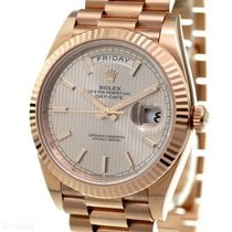 Rolex Day Date 40mm Ref-228235 18k Rose Gold Box Papers...