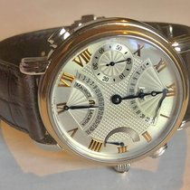 Maurice Lacroix Masterpiece Gold/Steel 43mm Silver Roman numerals