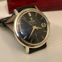 Omega Constellation 1962 vintage black dial crosshair men's watch