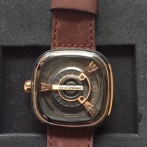 Sevenfriday Gold/Steel 46mm Automatic SF-M2/02 pre-owned