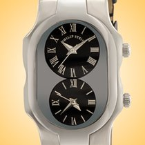 Philip Stein Steel 41mm Quartz 1-G-CB-CB new