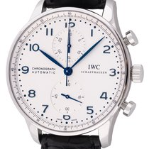 IWC : Portuguese Chronograph  :  IW371446 :  Stainless Steel