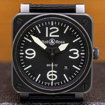 Bell & Ross 42mm Automatic pre-owned BR 03 (Submodel) Black