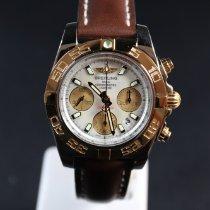 Breitling Chronomat 41 Gold/Stahl 41mm Weiß Österreich, Wien