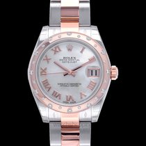 Rolex Or rose Remontage automatique Nacre 31mm nouveau Lady-Datejust